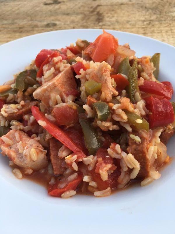 Chicken and Sausage Jambalaya (4 Portion)