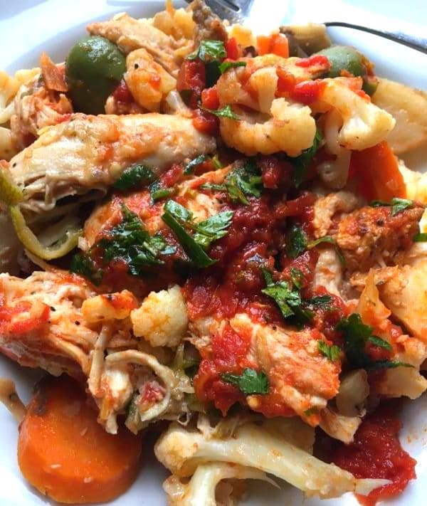 Italian Chicken and Tomatoes (4 Portion)