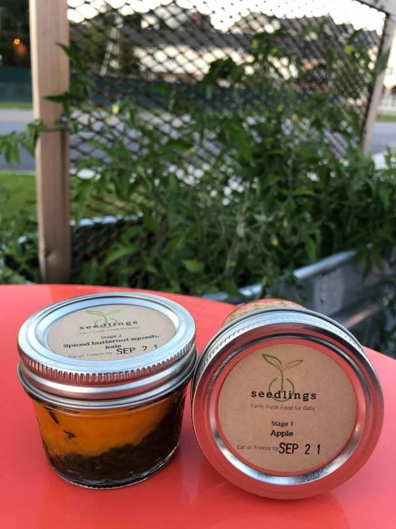 Seedlings Baby Food (Stage 1--$10 for 2 jars)